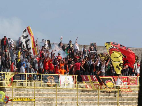 I tifosi del Messina a Catanzaro