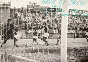 Catanzaro-Napoli 1968-1969. Gol di Salvi