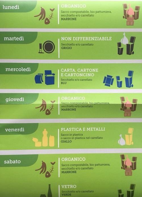 Calendario Raccolta Differenziata Rieti.Raccolta Differenziata Dal 18 Dicembre Si Cambia