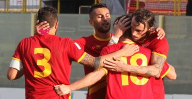 Catanzaro Rende Coppa Italia esultanza