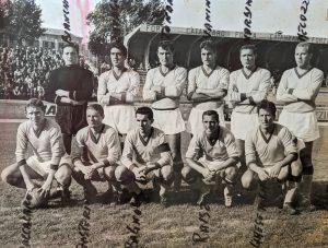 Us Catanzaro 1962-1963 nel match di Coppa Italia contro il Messina
