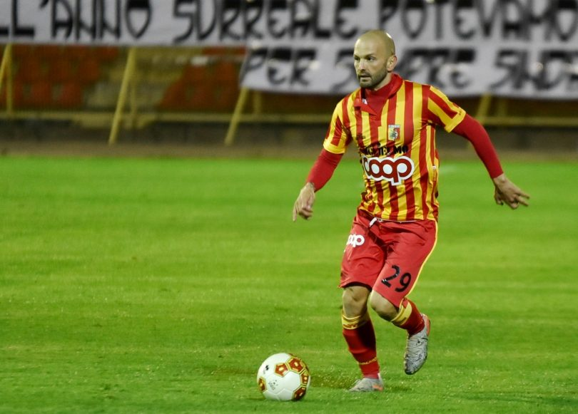 Massimiliano Carlini centrocampista del Catanzaro