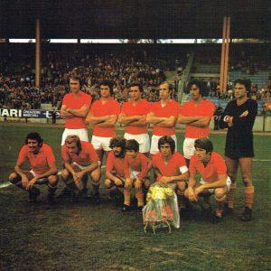 Formazione Unione Sportiva Catanzaro 1974-1975