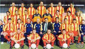 Rosa Unione Sportiva Catanzaro 2000-2001