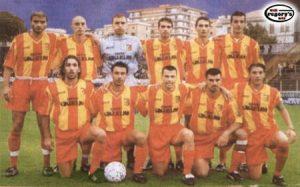 Rosa Unione Sportiva Catanzaro 2001-2002