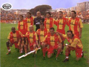 Rosa Unione Sportiva Catanzaro 2002-2003