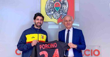 Antonio Porcino è un nuovo calciatore del Catanzaro