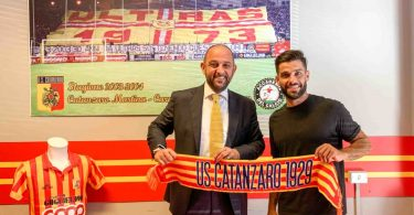 Francesco Bombagi è un nuovo calciatore del Catanzaro