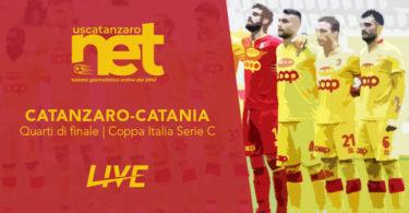 Catanzaro Catania Quarti Finale Coppa Italia