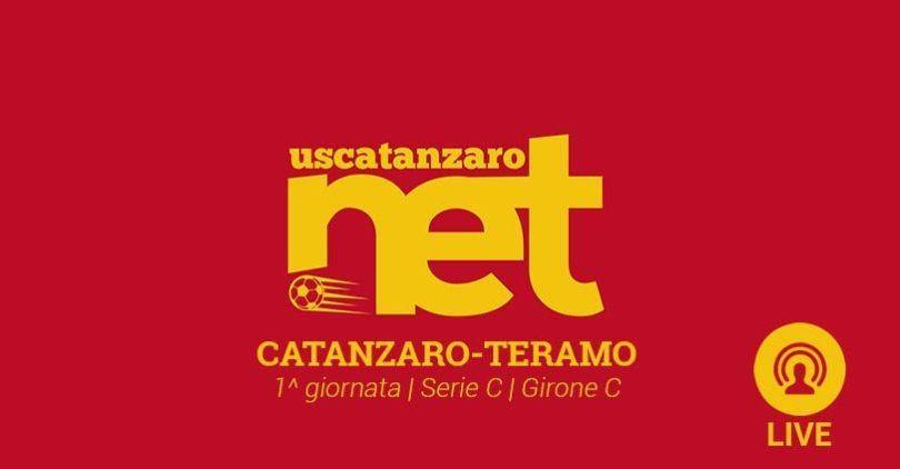 Catanzaro Teramo live