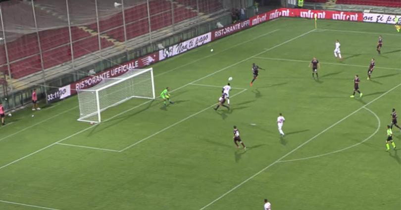 Salernitana Catanzaro 3-1 Coppa italia