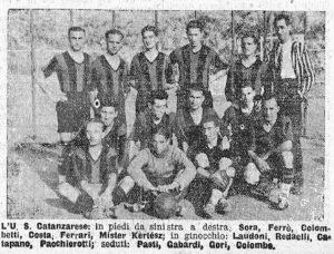 Rosa dell'Unione Sportiva Fascista Catanzarese 1931-1932