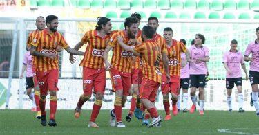 Martinelli in gol contro il Palermo