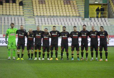 Formazione del Catanzaro nel match contro la Casertana
