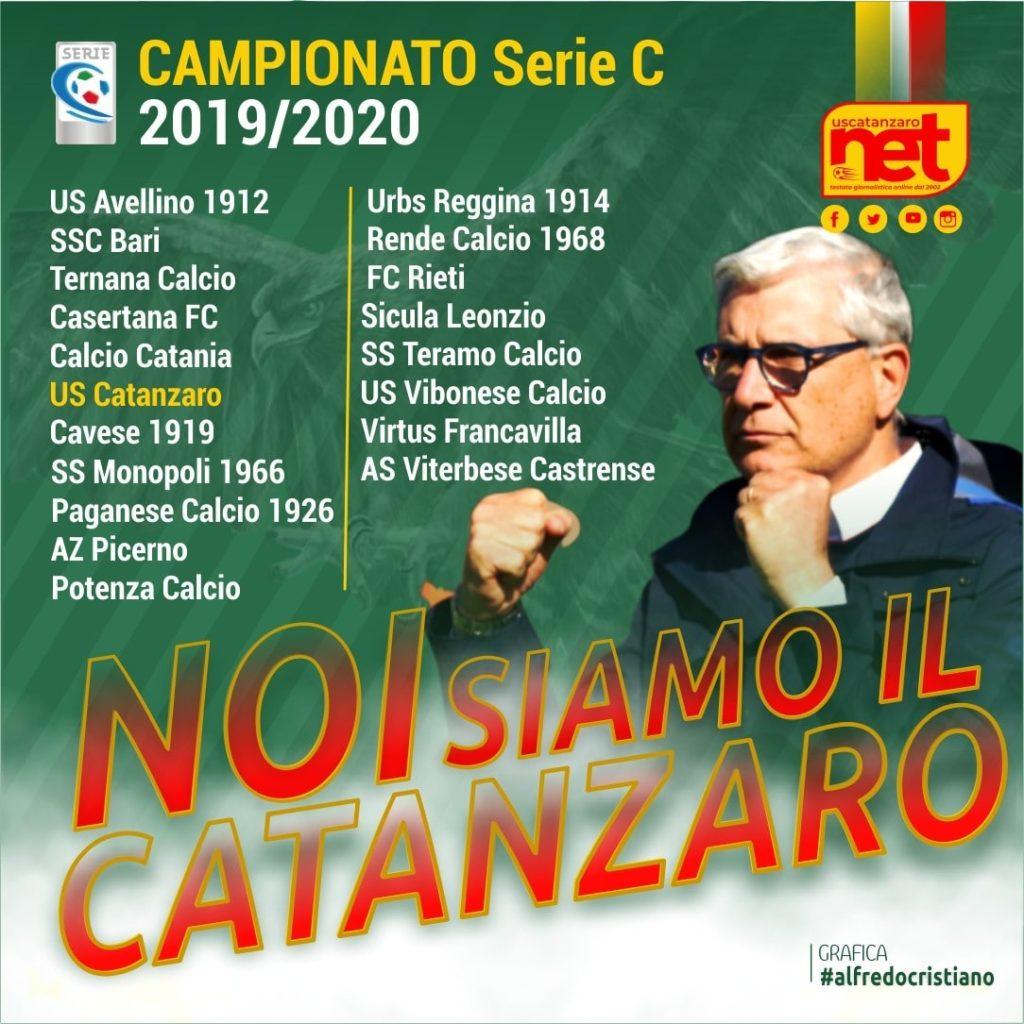 Gironi serie C 2019-2020