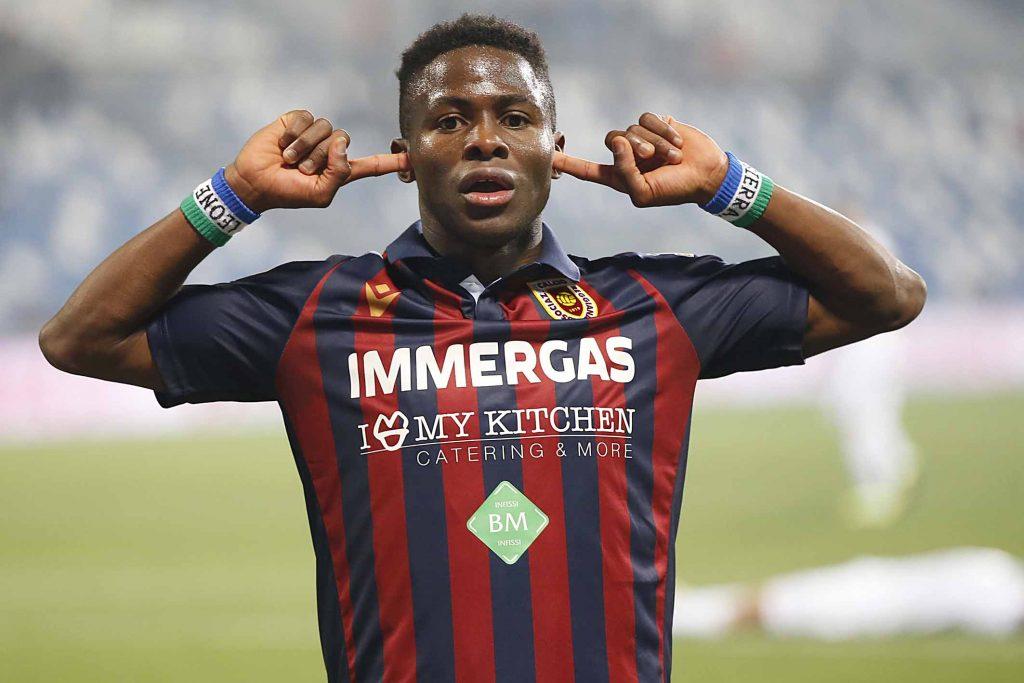 Kargbo, attaccante della Reggiana