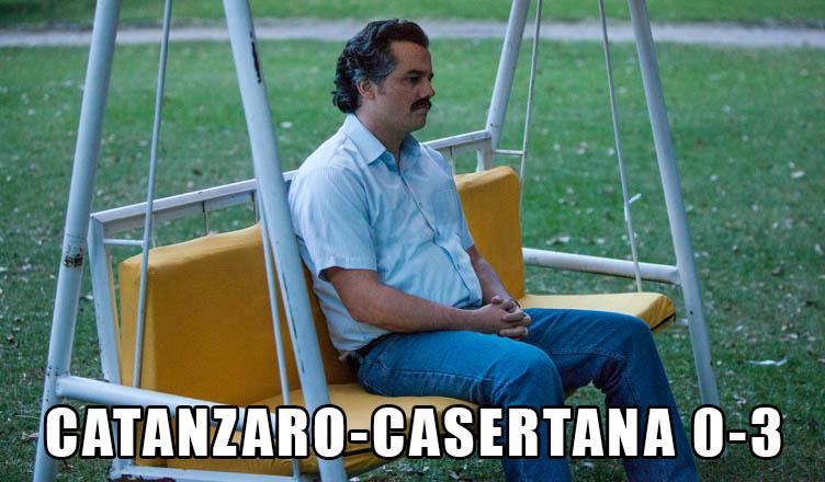 Meme Catanzaro Casertana