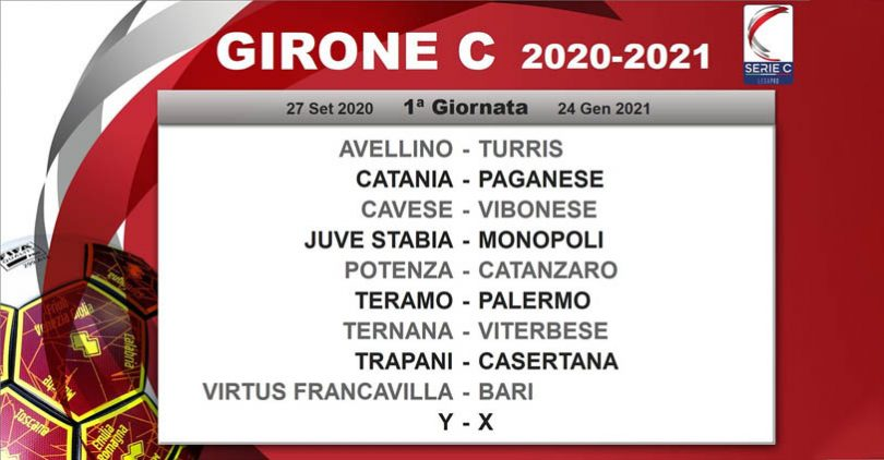 Calendario Girone C: il Catanzaro riparte da Potenza   UsCatanzaro.net