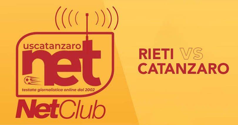 Rieti Catanzaro Live